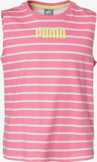 PUMA Top ALPHA STRIPED in pink, Produktansicht