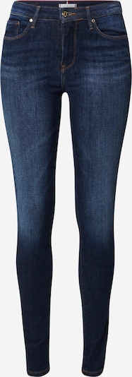 TOMMY HILFIGER Jeans 'COMO SKINNY RW DORAN' in blue denim, Produktansicht