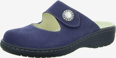 Longo Pantolette in blau, Produktansicht