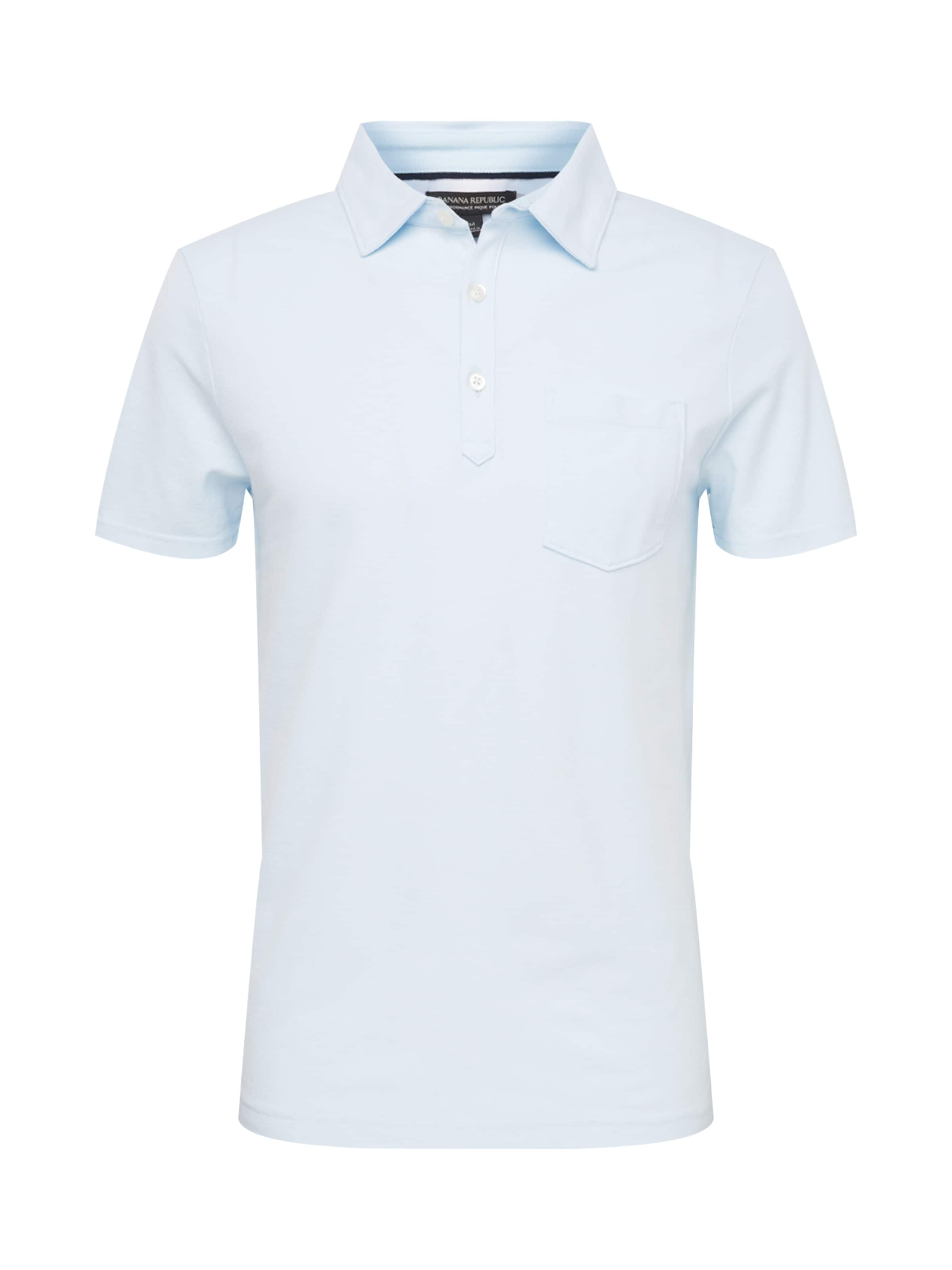 Republic Bleu T 'performance Banana Pique shirt Polo' En Clair 9IEDH2