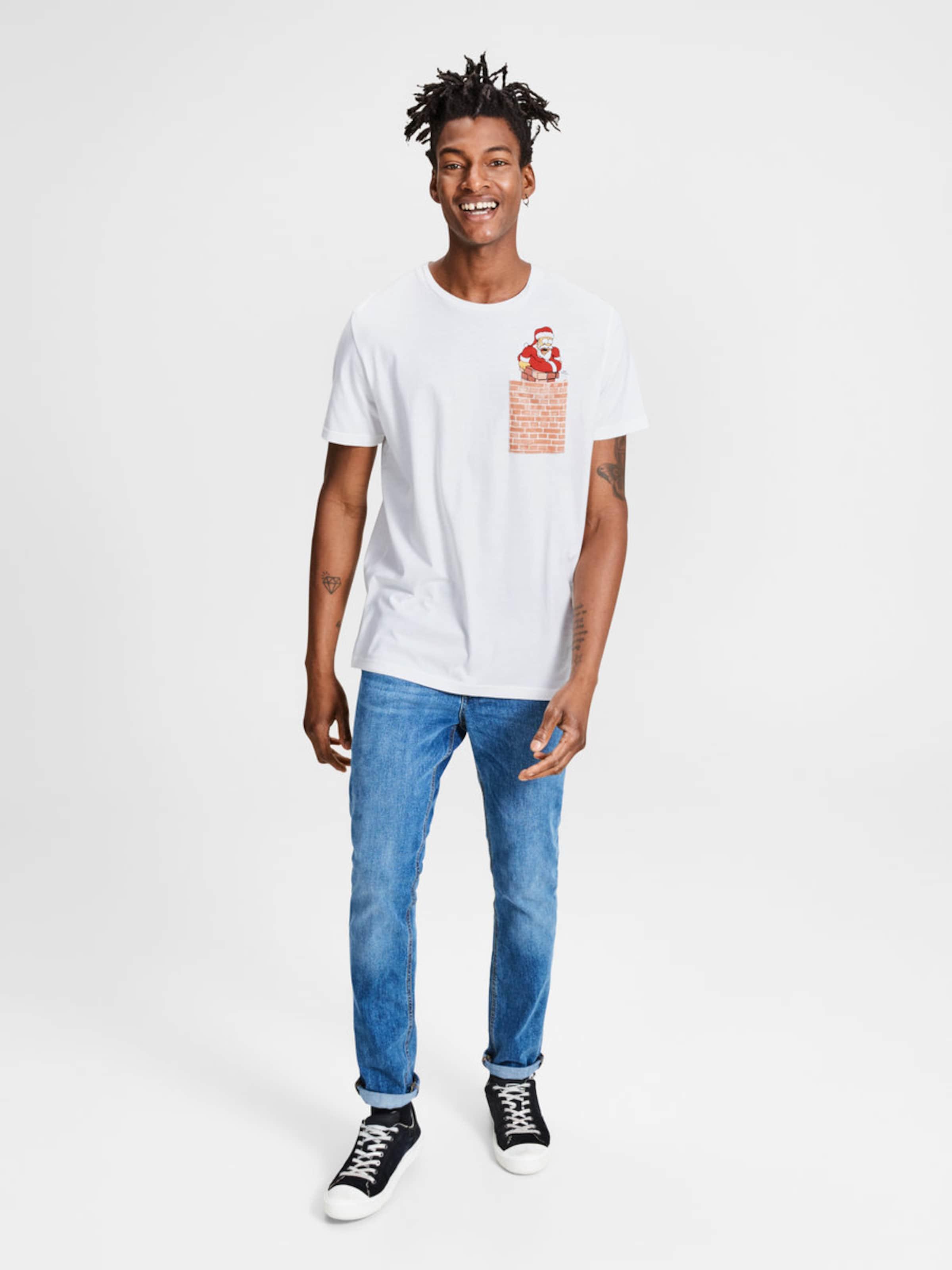 JACK & JONES T-Shirt 'The Simpsons' Outlet-Store Günstiger Preis 6E9ECe7