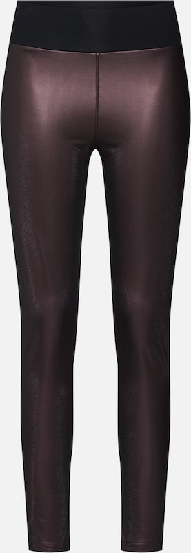 Urban Classics Leggings in weinrot: Frontalansicht