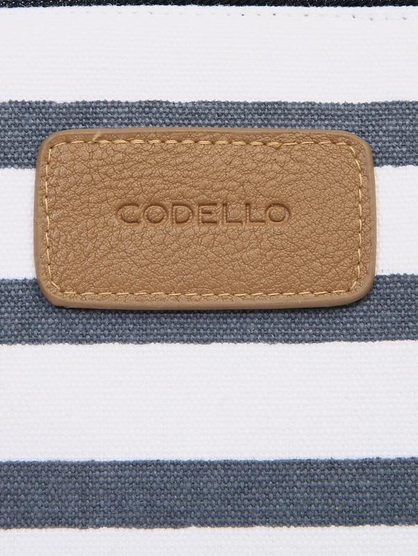 CODELLO Kosmetiktasche mit Streifen-Muster