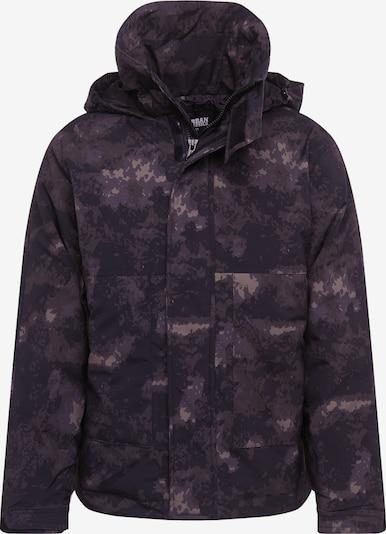 Urban Classics Zimná bunda - olivová / čierna, Produkt