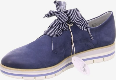 Franz Ferdinand Lace-Up Shoes in Blue / White, Item view