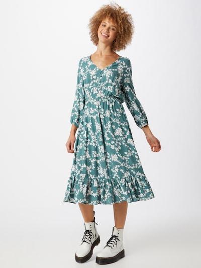 Trendyol Kleid in petrol / weiß, Modelansicht