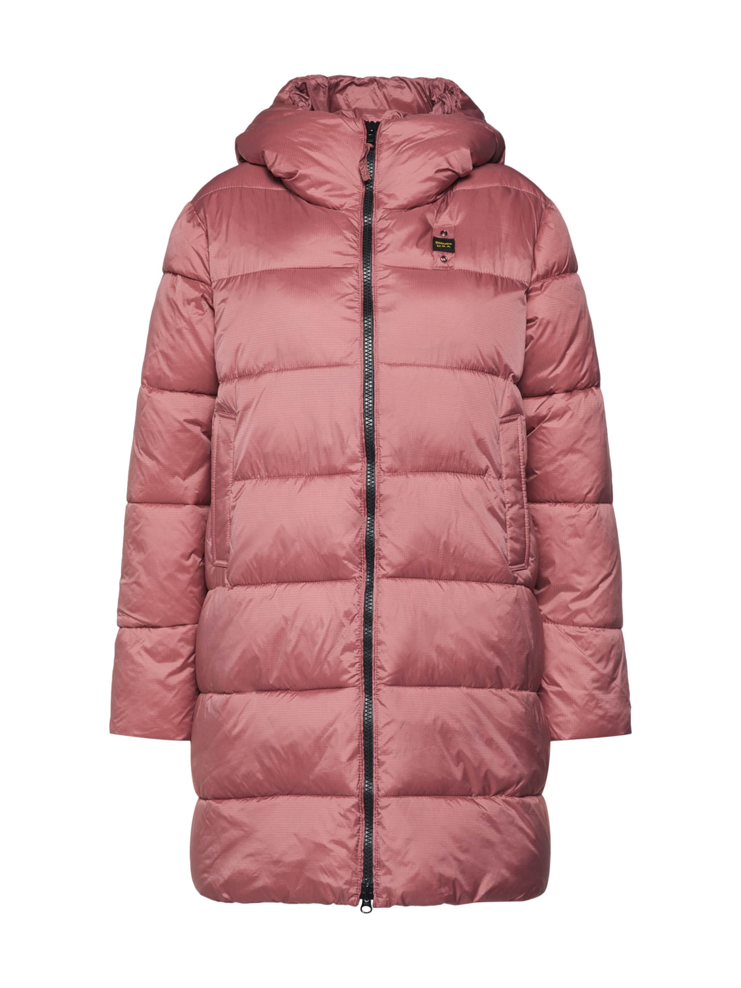 'impermeabile' Manteau Blauer D'hiver Rose usa En redCxBo