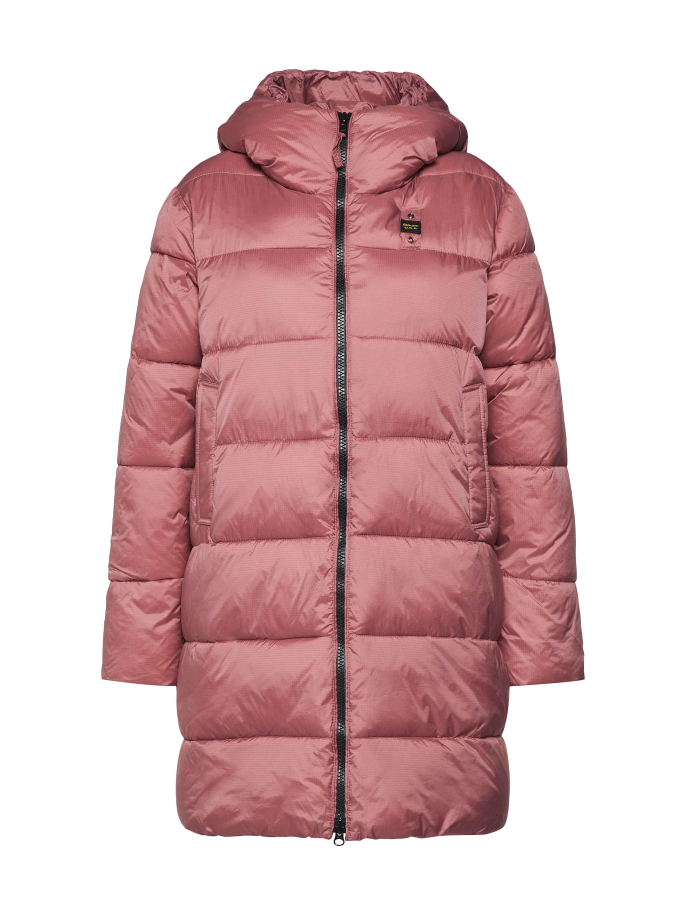 D'hiver En Rose Manteau usa Blauer 'impermeabile' gYb67yf