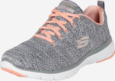 SKECHERS Sneaker 'FLEX APPEAL' in grau / pfirsich, Produktansicht