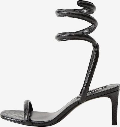 MANGO Sandaletten in schwarz, Produktansicht