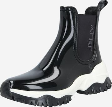 LEMON JELLY Rubber Boots 'Jayden' in Black