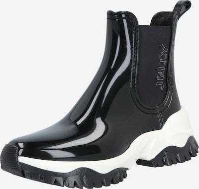 LEMON JELLY Гумени ботуши 'Jayden' в черно / бяло, Преглед на продукта
