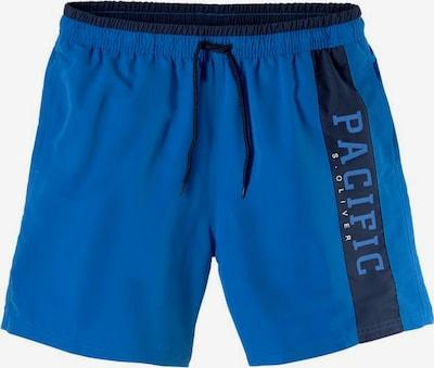 s.Oliver Plavecké šortky - modrá / námořnická modř, Produkt