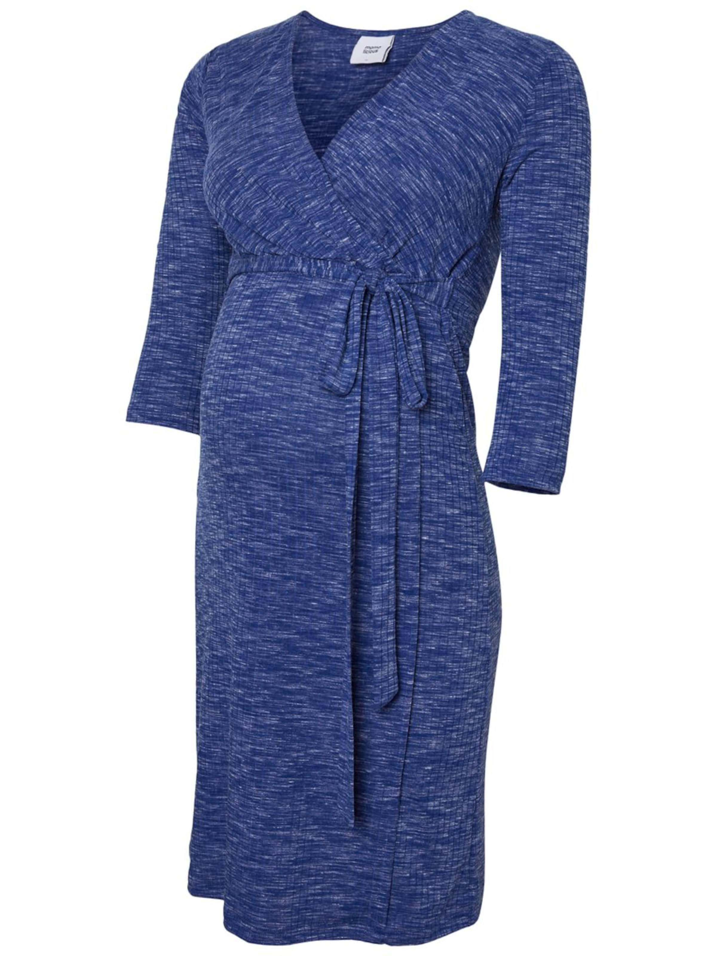 Mamalicious Chiné Robe Mamalicious En Bleu doCBxer