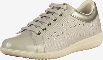 GEOX Sneaker in hellgrau: Frontalansicht