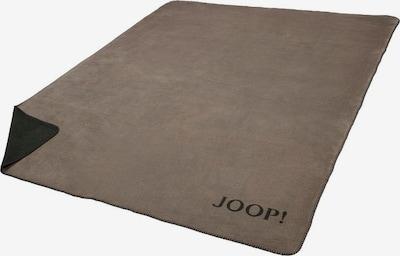 JOOP! Wohndecke in taupe / anthrazit, Produktansicht