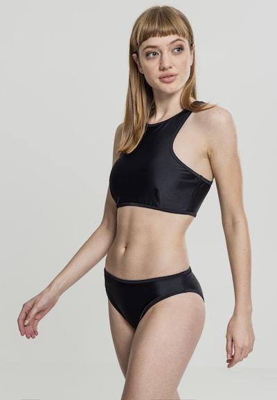 Urban Classics Bikini in schwarz, Modelansicht