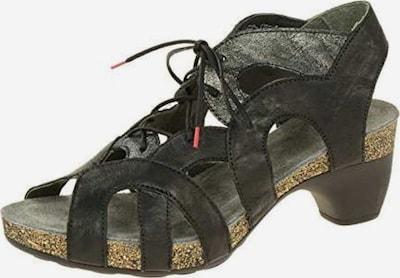 THINK! Sandale in schwarz / silber, Produktansicht