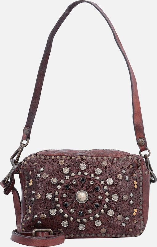 Campomaggi Bauletto Mini Bag Umhängetasche Leder 18 cm
