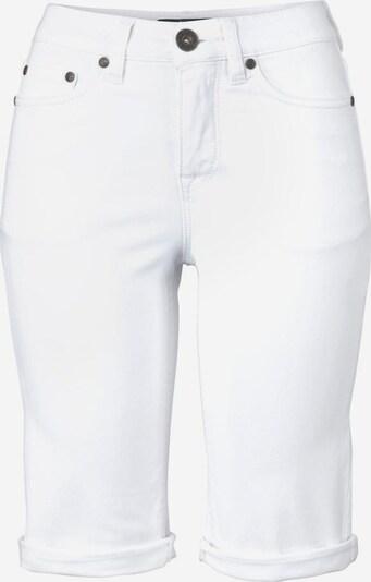 ARIZONA Jeansbermudas in weiß, Produktansicht