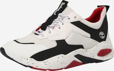 TIMBERLAND Sneaker 'Delphiville' in rot / schwarz / weiß, Produktansicht