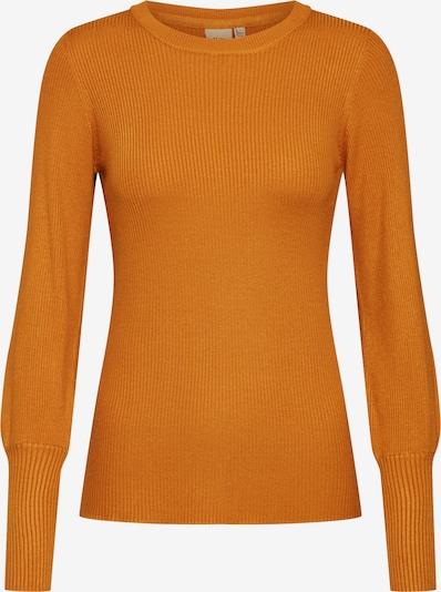 sötét narancssárga ICHI Pulóver 'URIT LS': Elölnézet