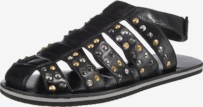 MELVIN & HAMILTON Sandalen in schwarz, Produktansicht