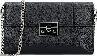 Seidenfelt Manufaktur Roros Clutch Tasche 23 cm in schwarz, Produktansicht