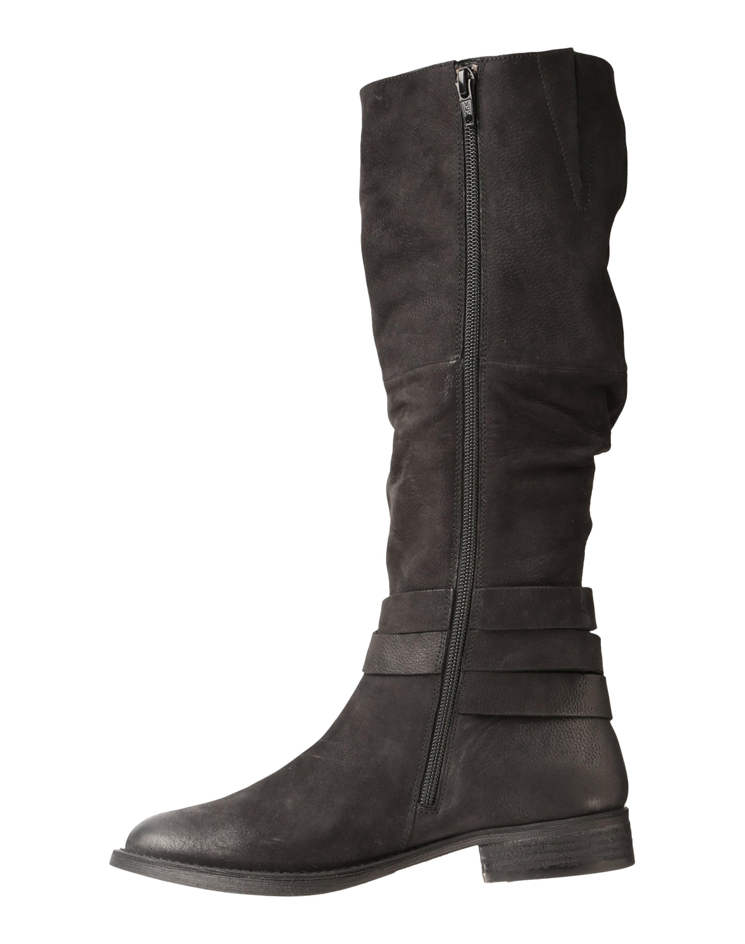 Aus High 'usa' Boots Schwarz In Spm Leder wOZN80XnPk
