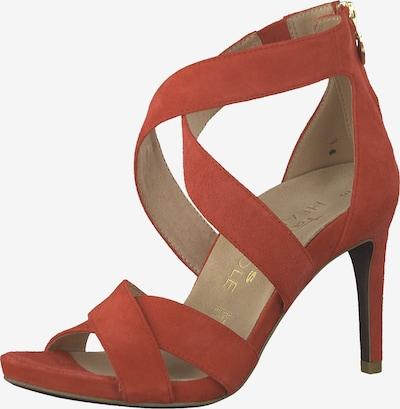 TAMARIS High Heel in orangerot, Produktansicht