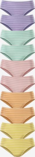 GO IN Jazzpants in gelb / jade / helllila / orange / pastellpink, Produktansicht