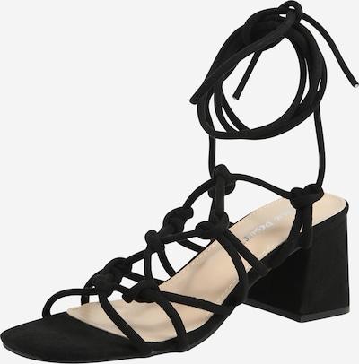 Public Desire Páskové sandály 'FREYA' - černá, Produkt