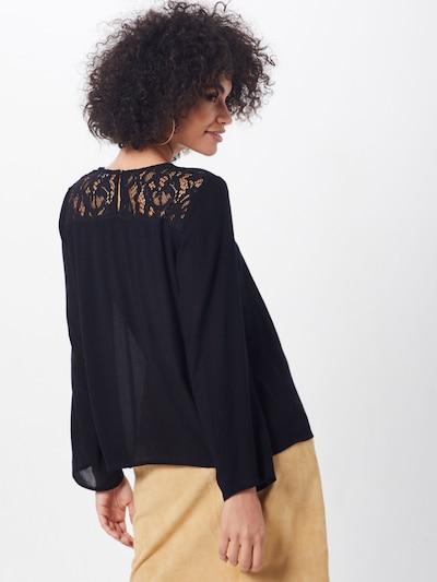 LTB Bluse 'JOCITE' in schwarz: Rückansicht