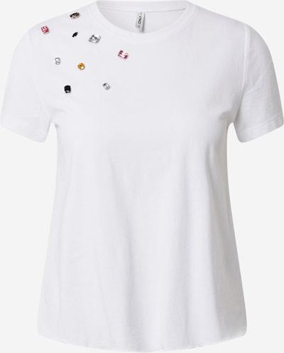 ONLY Shirt 'PIPPA' in mischfarben / weiß, Produktansicht