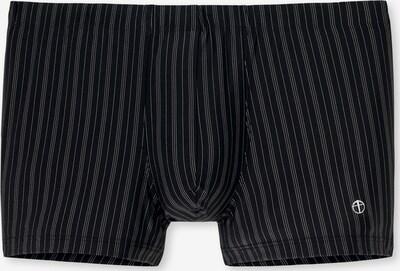 SCHIESSER Trunks 'Nachtschwärmer' in schwarz: Frontalansicht