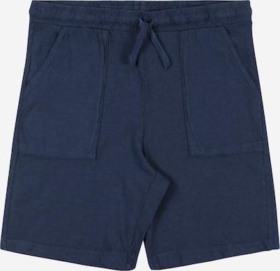 MANGO KIDS Kalhoty - modrá: Pohled zepředu