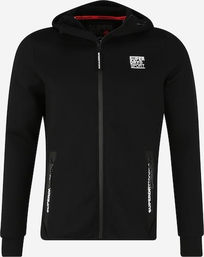 Superdry Sportsweatvest in de kleur Zwart, Productweergave