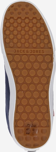 JACK & JONES Sneakers laag 'Barton Suede' in Navy / Wit 2fg5dc3e