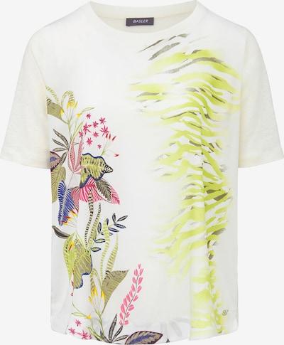 Basler Shirt in grün / mischfarben / weiß, Produktansicht