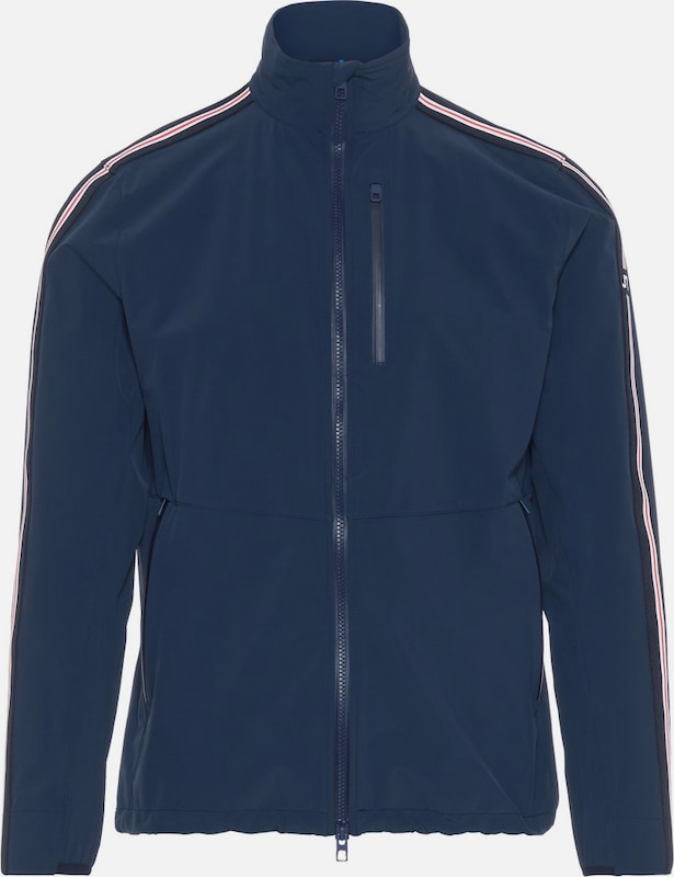 J.Lindeberg Jacke 'Adapt' in navy   rot   weiß  Mode neue Kleidung