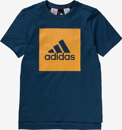 ADIDAS PERFORMANCE T-Shirt 'Essentials' in blau / dunkelgelb, Produktansicht