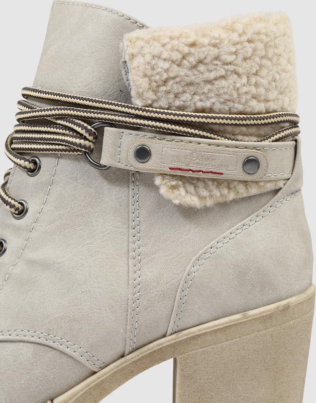 s.Oliver RED LABEL   Stiefelette mit Schnür-Details Schuhe Gut Gut Gut getragene Schuhe fb7cb1