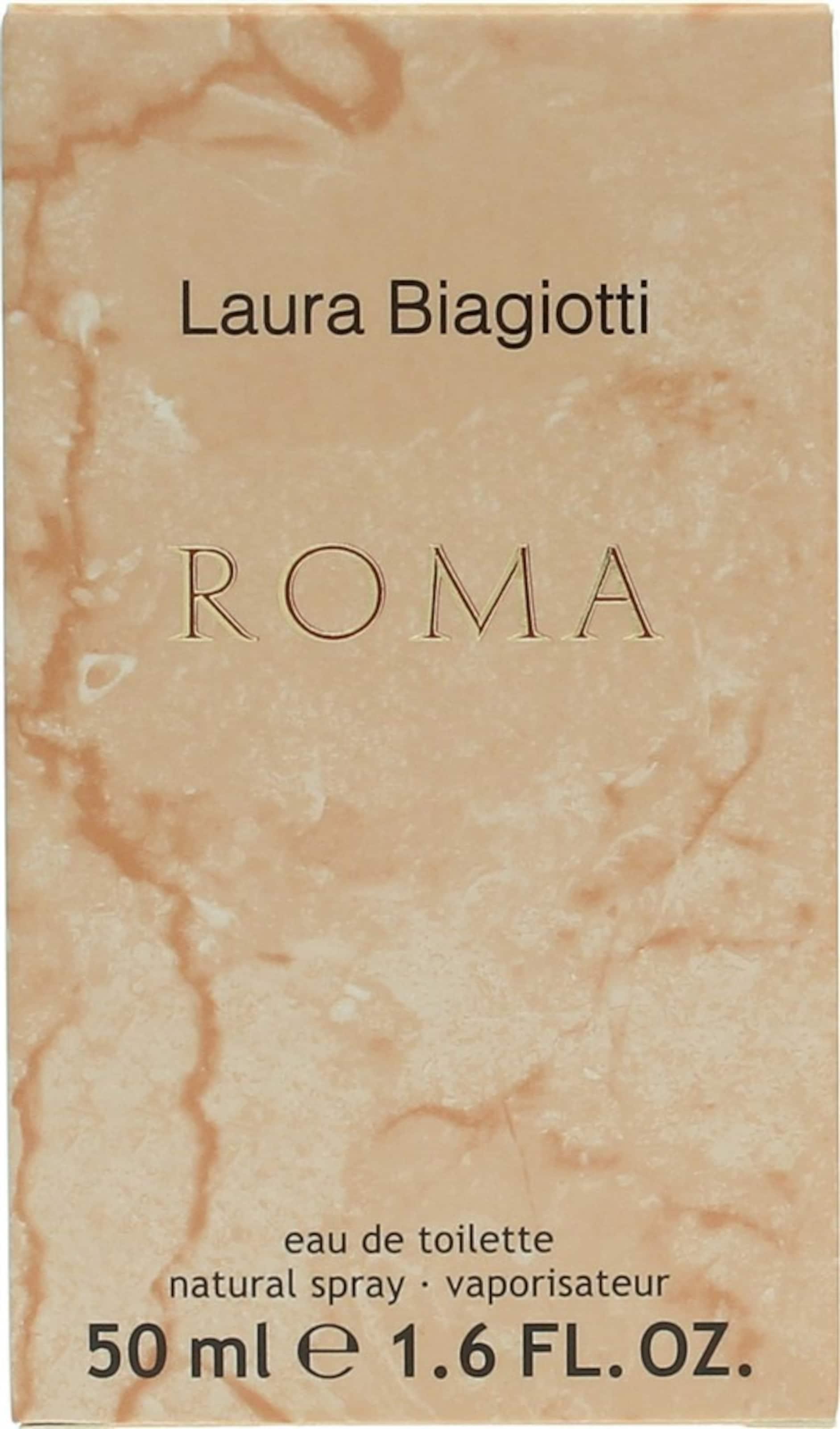 Laura De 'roma' Toilette Pastellorange Eau Biagiotti In 4R35LAjq