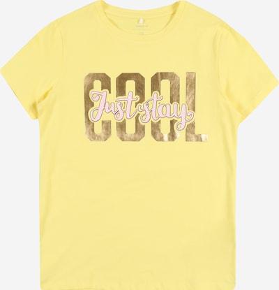 NAME IT Shirt 'Hali' in gelb, Produktansicht