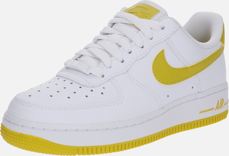 Force '07' 1 Nike Baskets Basses 'air JauneBlanc Sportswear En Rj5q34AL