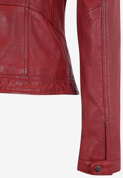 7ELEVEN Lederjacke 'URSULA' in rot, Produktansicht