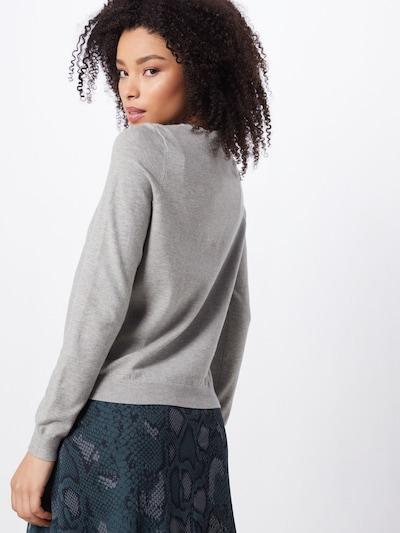 VERO MODA Sweter 'HAPPY' w kolorze szarym: Widok od tyłu