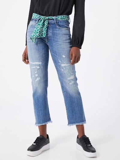 Le Temps Des Cerises Jeans 'PRECIOUS' in blue denim, Modelansicht