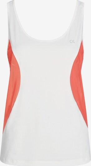 Calvin Klein Tank Top in rot / weiß, Produktansicht
