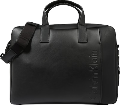 Calvin Klein Laptoptasche 'ELEVATED LOGO SLIM'